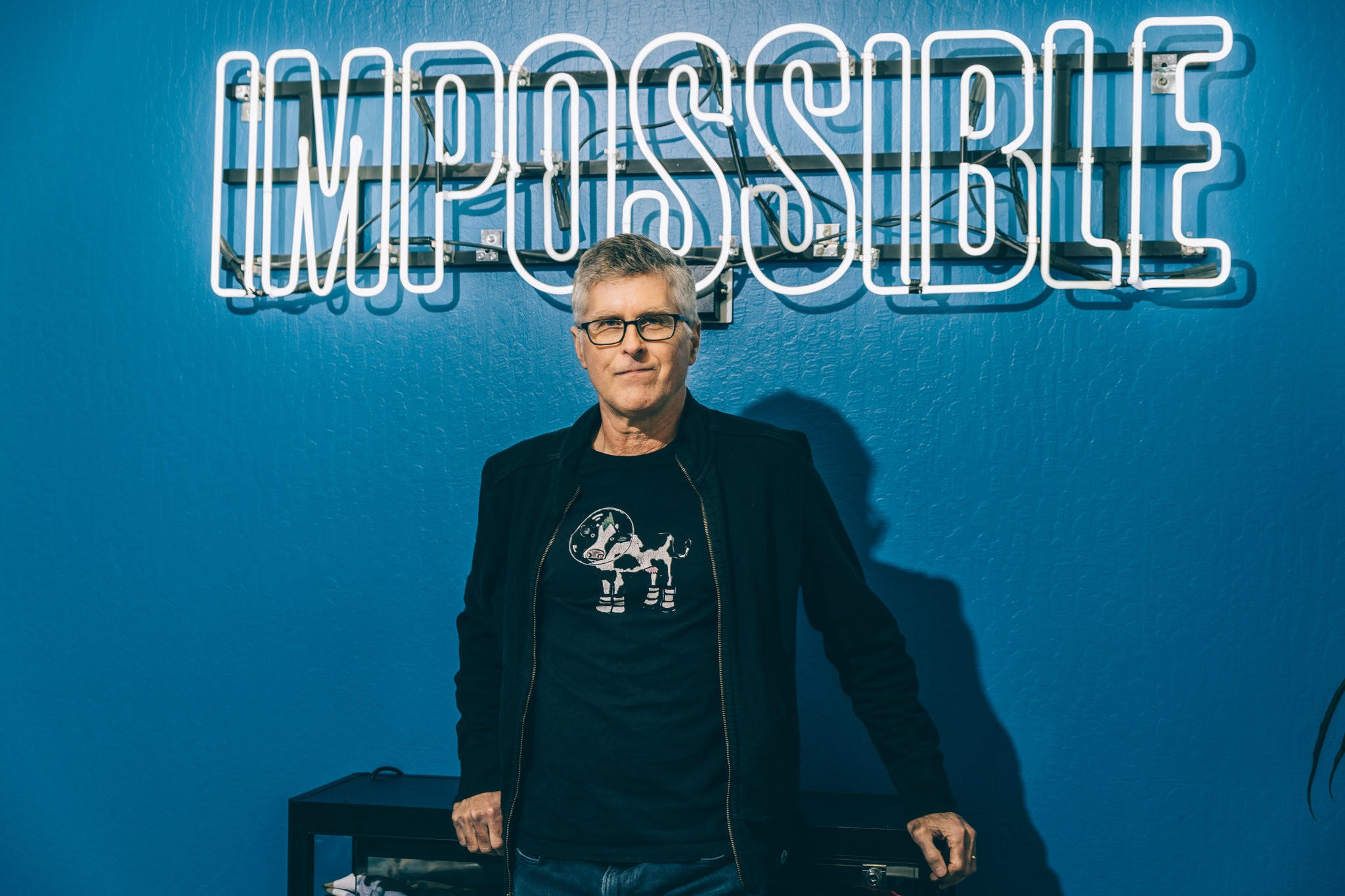 Pat Brown, director de Impossible Foods