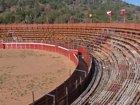 Jóvenes trujillanos en contra de las corridas de toros en Valera