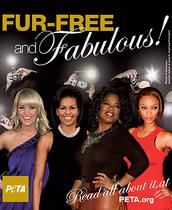 Michelle Obama, elogiada por no usar pieles