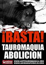 ¡Atención Bogotá! Gran Cadena Humana por la Abolición  de las Corridas de Toros