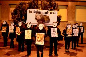 """AnimaNaturalis el 28 de diciembre recordó en Logroño a """"Los Otros Inocentes"""""""
