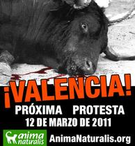 Concentración ruidosa por la reapertura de la Plaza de Toros de Valencia