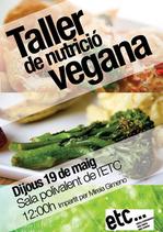 Taller de nutrición vegana en Barcelona