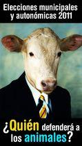 España: elecciones municipales 2011, las opciones para los animales
