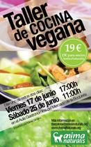¡Llegan a Barcelona los Talleres de cocina vegana 'CociNaturalis'! ¡Apúntate!