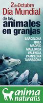 AnimaNaturalis conmemorará el Día Mundial de Animales en Granjas