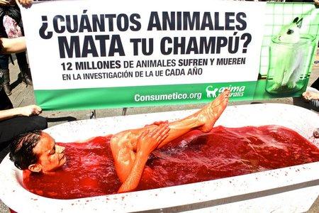 Impactantes acciones por el Día Mundial del Animal de Laboratorio
