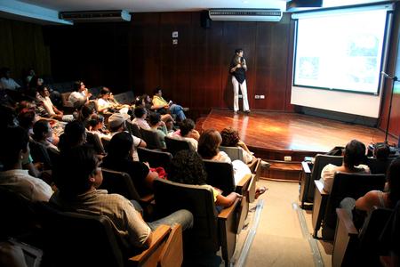 Fundadora de AnimaNaturalis dio conferencia en Mérida