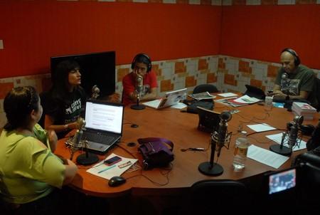 """Fundadora de AnimaNaturalis en programa """"La Taquilla"""" con René Franco"""