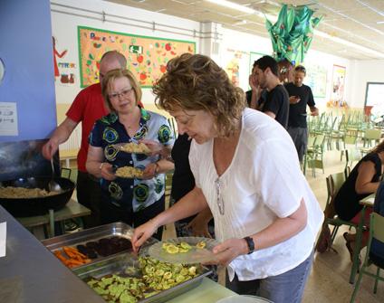 Realizamos un taller de cocina vegana en Vilafranca del Penedès