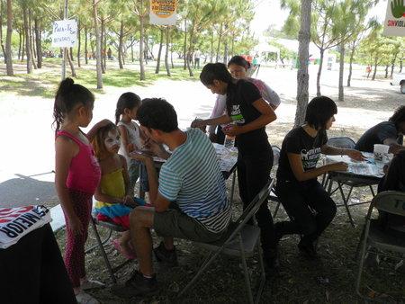 """AnimaNaturalis dio talleres para niños en el """"EcoFest 2012"""""""