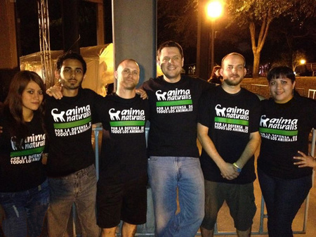 Band of Mercy manifestó su apoyo a AnimaNaturalis