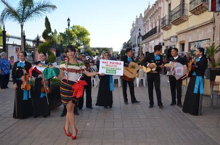 """""""Haz patria, hazte vegetariano"""", pidió AnimaNaturalis en eventos simultáneos en México"""