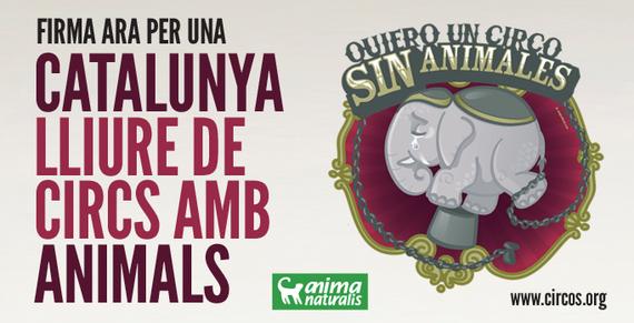 """Firma por una ley para una """"Catalunya libre de Circos con Animales"""""""