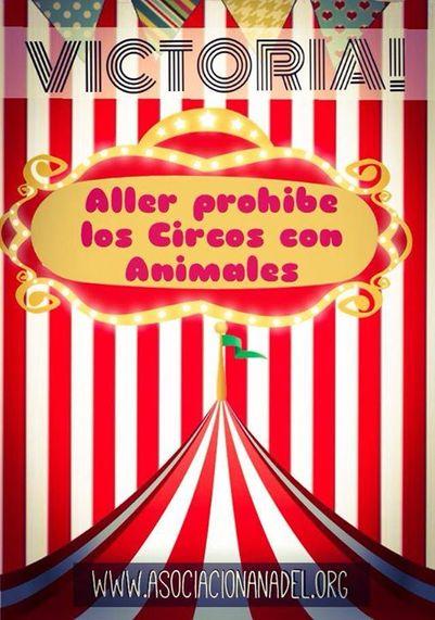 Aller (Asturias) veta los circos con animales