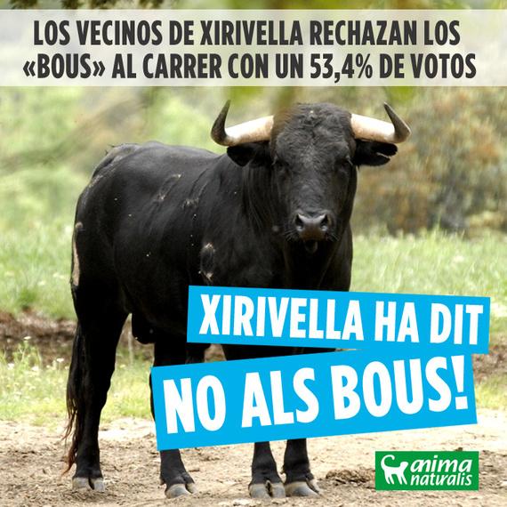 """Xirivella dejará de hacer """"bous"""""""