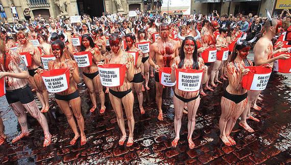 Gobierno de Navarra achaca la caída de turistas en Sanfermines al movimiento antitaurino