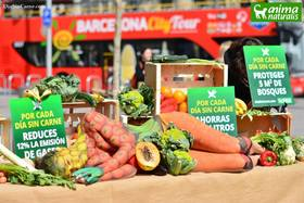 AnimaNaturalis celebró el Día Mundial Sin Carne