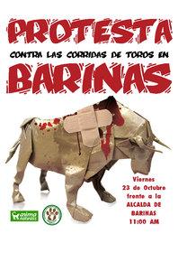 Contra las corridas de toros en Barinas