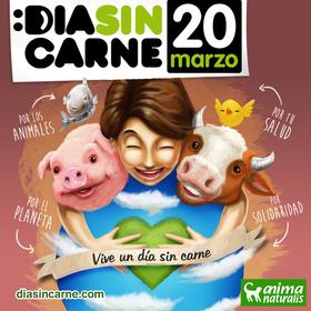 """Este 20 de marzo, vive un """"Día Sin Carne"""" por los animales"""