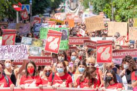 Organizaciones animalistas exigimos en Madrid el rescate inmediato de los animales de Vivotecnia